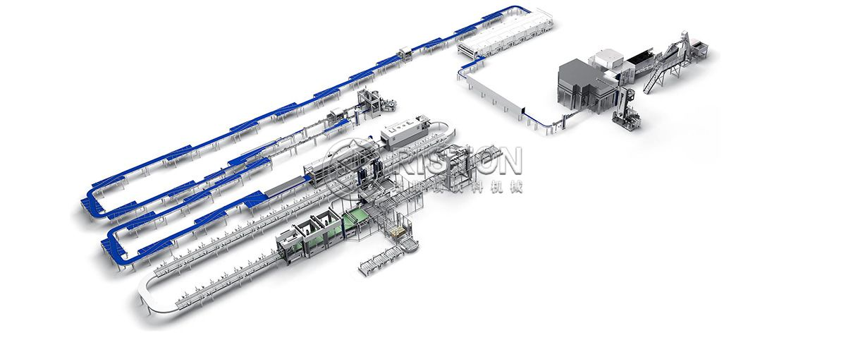 330ml-1L Water Filling Line