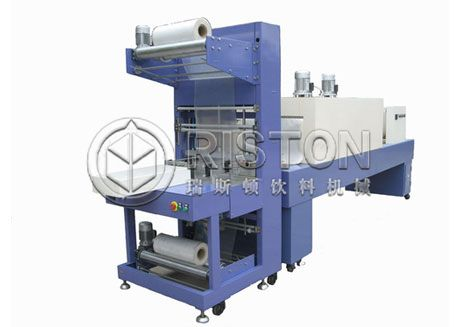 Semi-Automatic Bottle Shrink Wrapping Machine