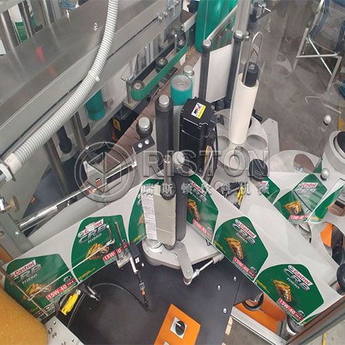 Adhensive Sticker Label Machine